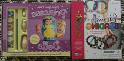 DIY Fun With Beading & Paint Your Own Princess Nesting Dolls