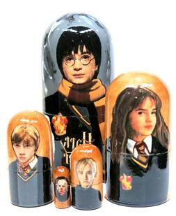 Harry Potter 5 Piece Russian Collectible Stacking Nesting Do