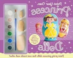 Paint Your Own Princess Nesting Russian Dolls Arts and Craft