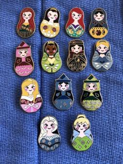 Disney Trading Pins-Mystery Pack Nesting Dolls-Near Complete